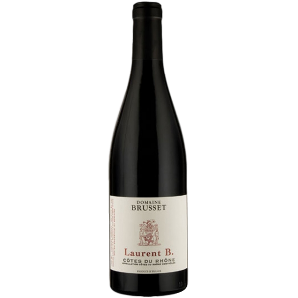 domaine brusset cotes du rhones rouge laurent brusset
